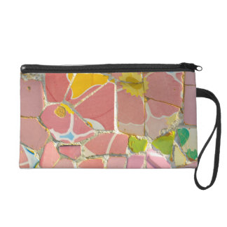 Parc Guell in Barcelona Spain Wristlet Clutches