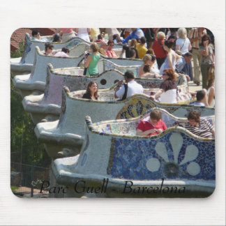Parc Guell Mouse Pad