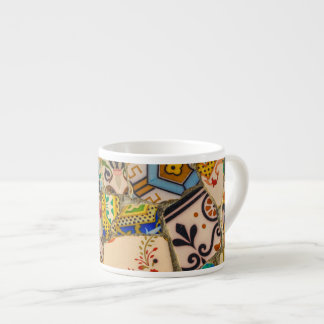 Parc Guell Tiles in Barcelona Spain Espresso Cup