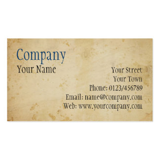 Parchment Double-Sided Standard Business Cards (Pack Of 100)