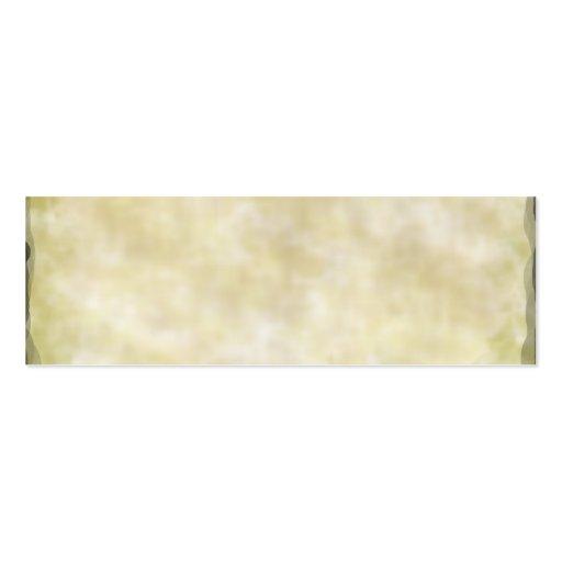 Parchment Business Card Templates
