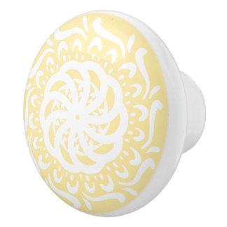 Parchment Ceramic Knob