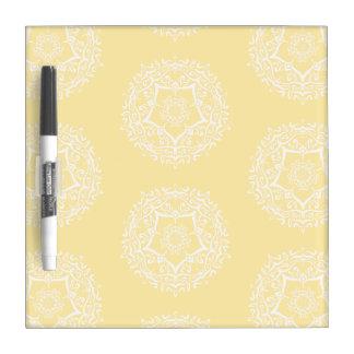 Parchment Mandala Dry Erase Whiteboards