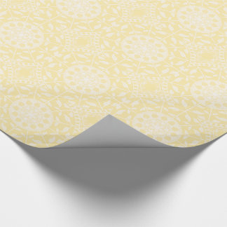 Parchment Mandala Wrapping Paper