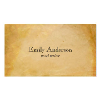 Parchment Paper 2 Pack Of Standard Business Cards