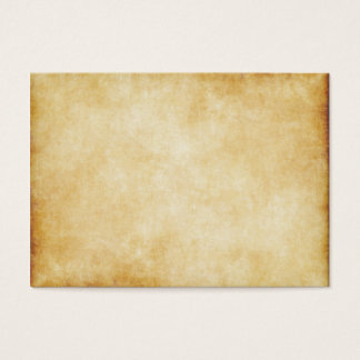 Parchment Paper Background Custom Business Card
