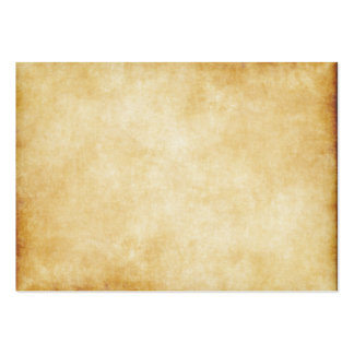Parchment Paper Background Pack Of Chubby Business Cards
