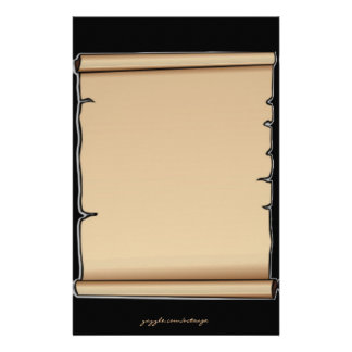 Parchment Scroll Stationery