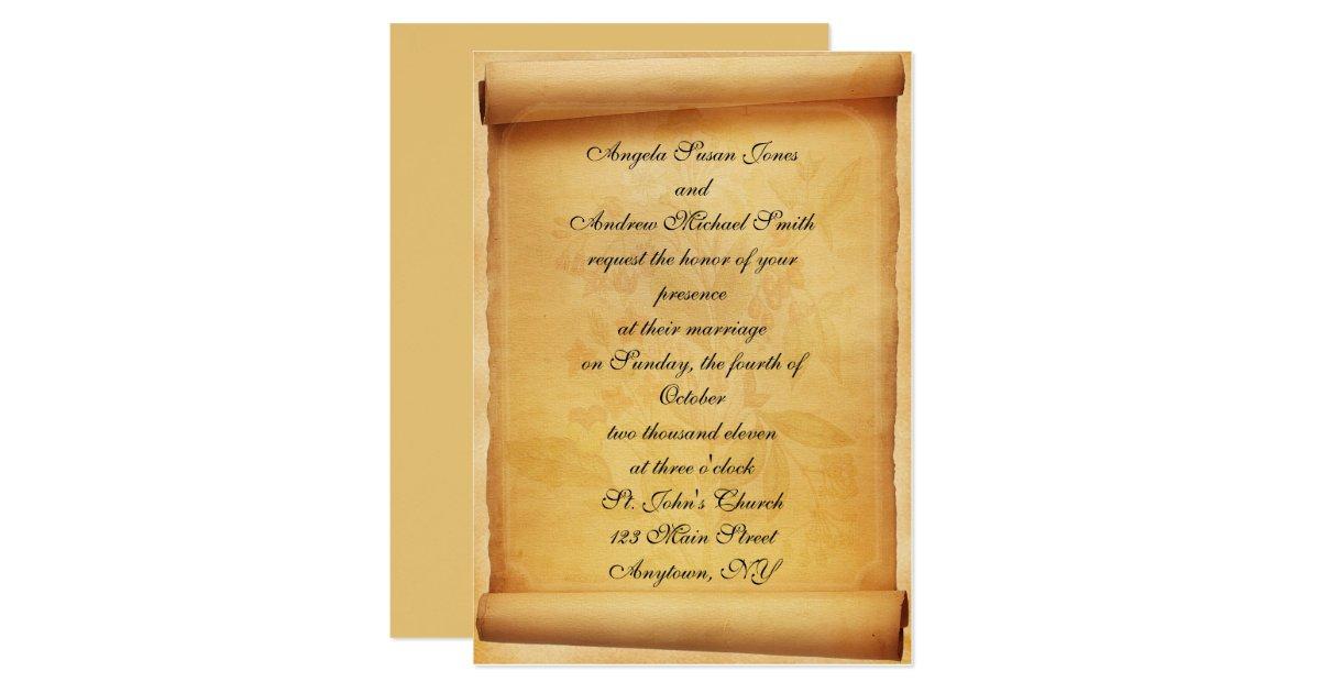 wedding invitations scrolls australia - 28 images - designs boxed ...