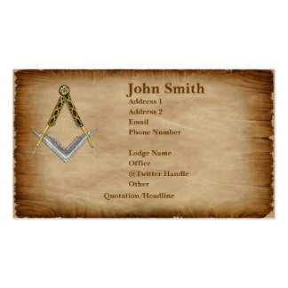 Parchment Standard Business Card
