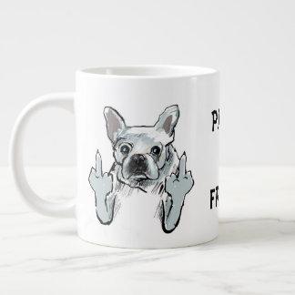 Pardon My Frenchie v1.0 Large Coffee Mug