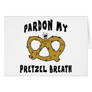 Pardon My Pretzel Breath Gift Card