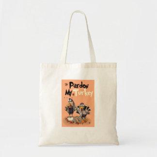 Pardon My Turkey Tote Bag