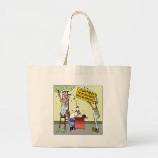 Pardon The Inconvenience Canvas Bags