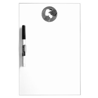 Parent and child turtle dry erase board