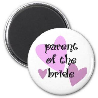 Parent of the Bride 6 Cm Round Magnet