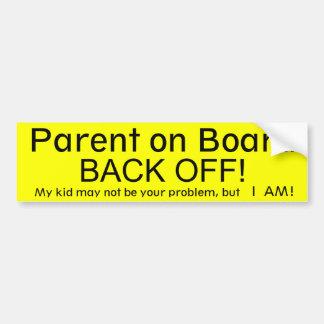 Parent on Board Bumper Sticker