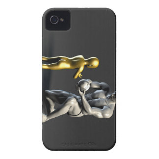 Parent Teaching Child as a Concept in 3D Case-Mate iPhone 4 Case
