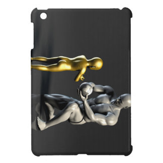 Parent Teaching Child as a Concept in 3D iPad Mini Cover