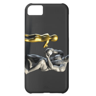Parent Teaching Child as a Concept in 3D iPhone 5C Case