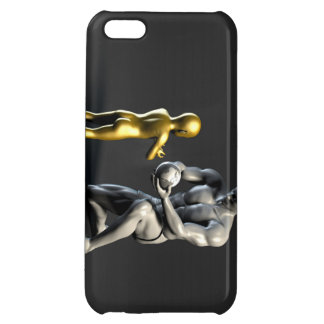 Parent Teaching Child as a Concept in 3D iPhone 5C Covers