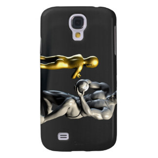 Parent Teaching Child as a Concept in 3D Samsung Galaxy S4 Case