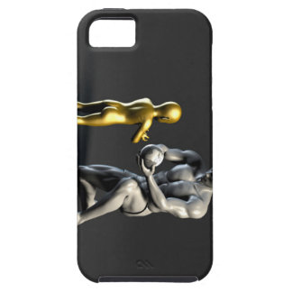 Parent Teaching Child as a Concept in 3D Tough iPhone 5 Case