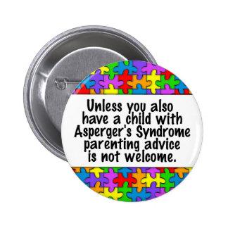 Parenting Advice 6 Cm Round Badge