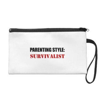 Parenting Style Survivalist Wristlet