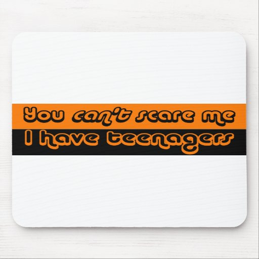 Parents of Teens Halloween Mouse Pads