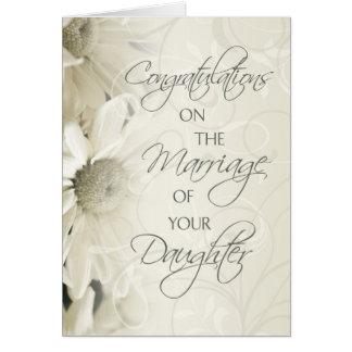 Parents of the Bride Wedding Congratulations Card