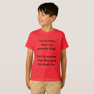 Parents Suck T-Shirt