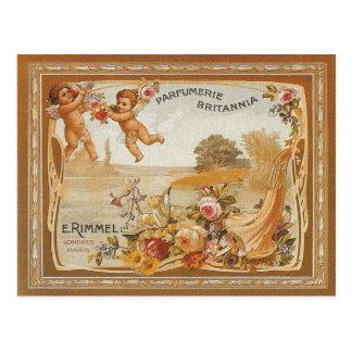 Parfumerie Britannia Vintage Ad Post Cards