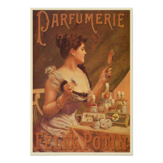 Parfumerie Felix Potin Poster