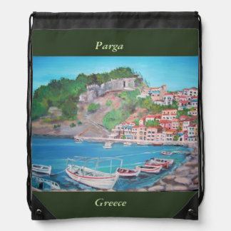Parga, Drawstring Backpack