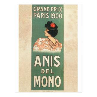 Paris 1900 Flamenco dancer French Postcard