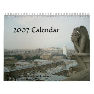 Paris 2007 Calendar