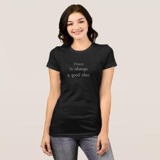 Paris a Good Idea -- trendy T-shirt