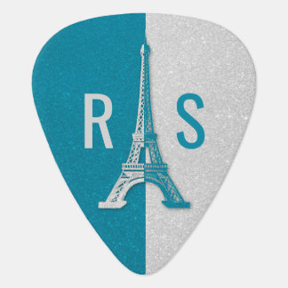 Paris | Adorable Glitter Eiffel Tower Guitar Pick