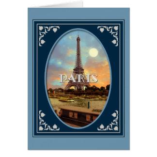 Paris Afternoon Blue Card