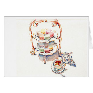 Paris Afternoon French Tea Card
