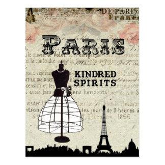 Paris and I Postcard