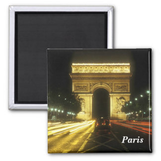 Paris - Arc de Triomphe - Aimants Pour Réfrigérateur