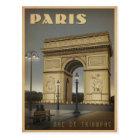 Paris - Arc De Triomphe Postcard