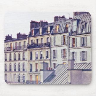 Paris Architecture | Roof Top Building Mouse Pad
