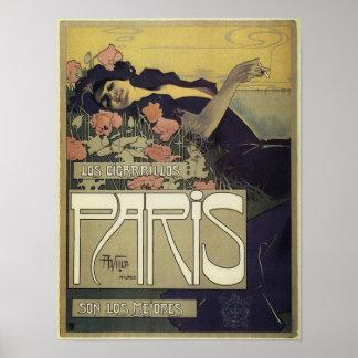 Paris Art Nouveau Poster