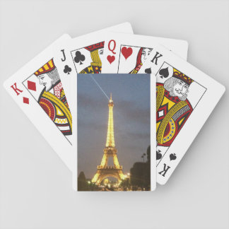 Paris at Night: Eiffel Tower Playing Cards