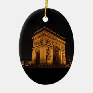 Paris at Night Ornament