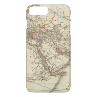 Paris atlas map iPhone 7 plus case