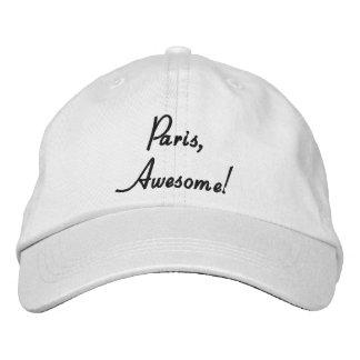 Paris, Awesome! Quote Adjustable Cap